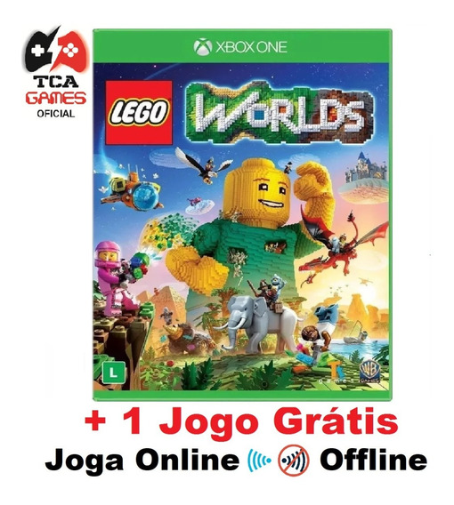 Lego Worlds Xbox One Mídia Digital