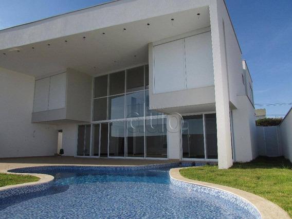 Casa Com 4 Dormitórios, 375 M² - Venda Por R$ 2.350.000,00 Ou Aluguel Por R$ 10.000,00/mês - Alphaville Piracicaba - Piracicaba/sp - Ca1103