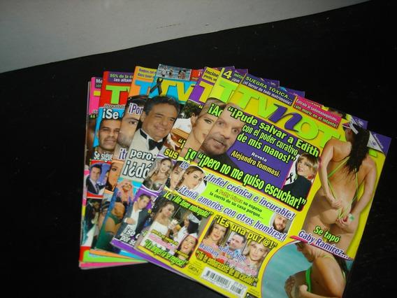 (of77) Lote 8 Revistas Tvnotas
