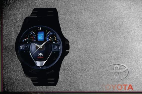 Relógio De Pulso Personalizado Carro Corolla 18- Cod.tyrp036