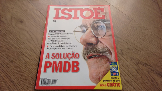 Revista Isto É 1499 Partidos Políticos Carla Perez K844