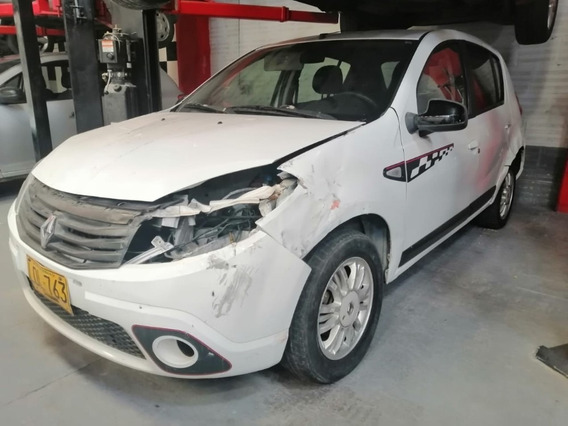 Renault Sandero Gt Line Blanco 2011