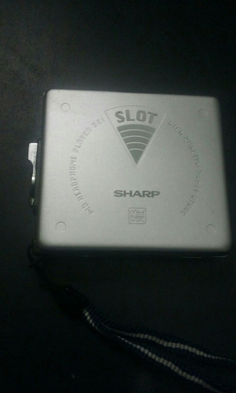 Sharp Md-ss321-a Minidisc Head Player Japan Nao Liga N/estad