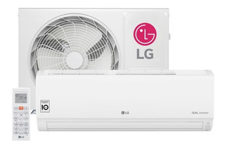Ar Condicionado Split Hw Lg Dual Inverter 9000 Btus 220v Q/f