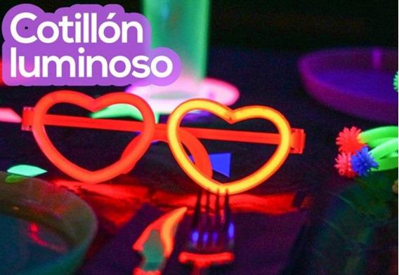 Cotillon Luminoso Led Neon 100 Pax Casamiento Cumpleaños