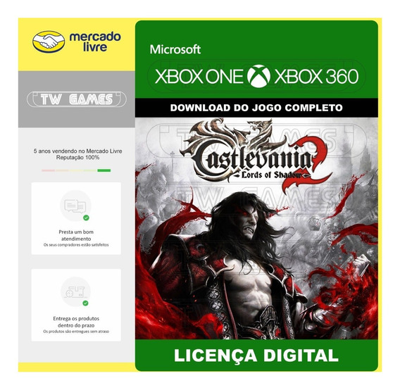 Castlevania Lords Of Shadow 2 Digital Xbox One Xbox 360