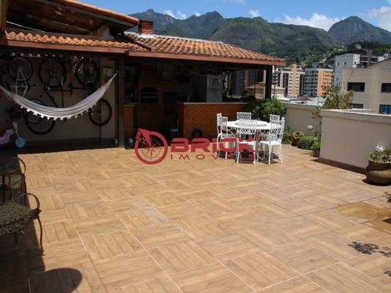 Cobertura Linear No Centro Da Cidade Com 3 Quartos Sendo 1 Suíte. - Co00017 - 31965006