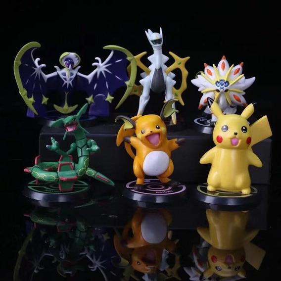 Pokemon Lunala Solgaleo Rayquaza Arceus Pikachu Raichu