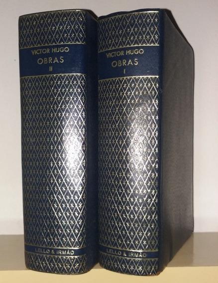 Obras Vitor Hugo 2 Volumes - Lello Irmão