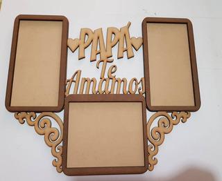 Porta Retratos Para Papa Mdf