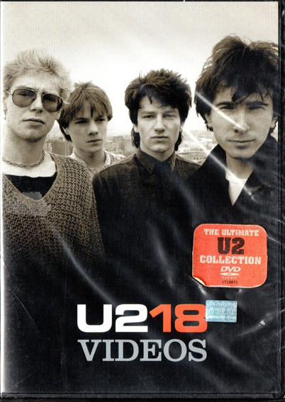 U2 18 Videos Dvd - Los Chiquibum