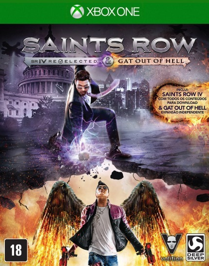 Saints Row Iv Re-elected + Gat Out Of Hell Xbox One Fisico