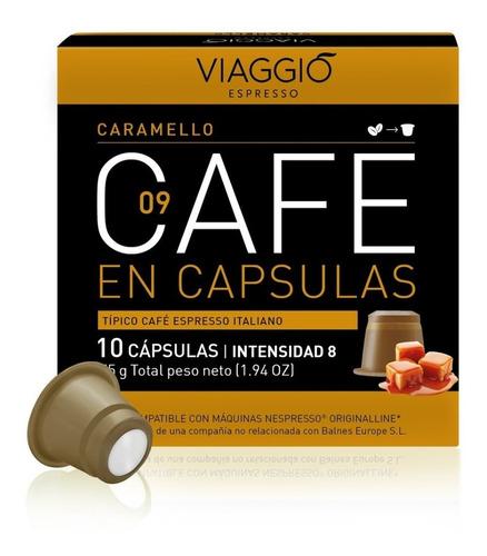 Pack 30 Cápsulas Café Viaggio Caramello Para Nespresso®