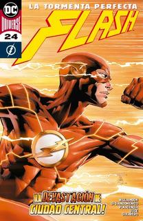 Comic Dc Universe Flash # 24 Devastacion Ciudad Central
