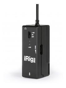 Irig Pre Ik Pre Amplificador Microfone iPhone iPad Android