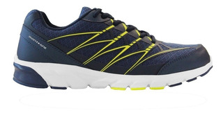 Zapatillas Montagne Running Action -azul