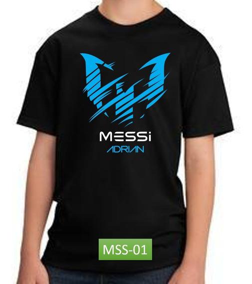 Playera Messi Barcelona Dia Del Niño, Cumpleaños Personaliza