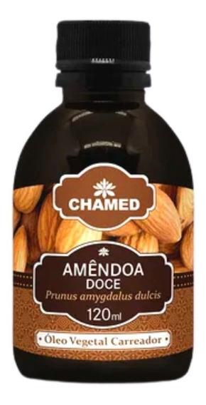 Óleo Vegetal De Amendoa Doce 120 Ml Chamed