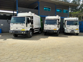 Caminhão Compactador De Lixo - Ford Cargo 1722e - Ano 2011