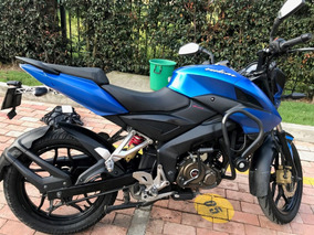 Ns 150 Azul Eléctrico