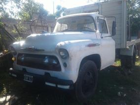 Camion Chevrolet 1957 Con Equipo De Gas