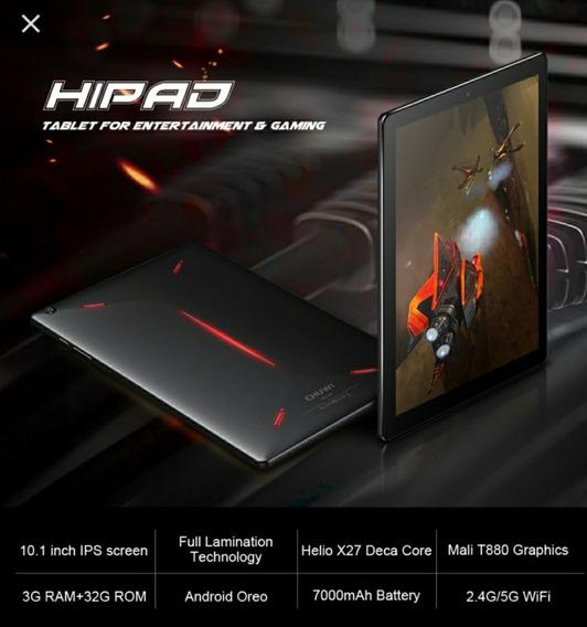 Tablet Gamer X27 Chuwi Hi Pad 10.1 Polegadas - Lte - Lacrado ( Tão Rápido Quanto O Mi Pad 4 Plus )