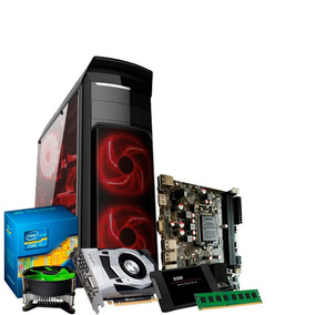 Pc Gamer I5, 8gb, Geforce 2gb 1050 Gtx, Ssd 240, Hd 500gb