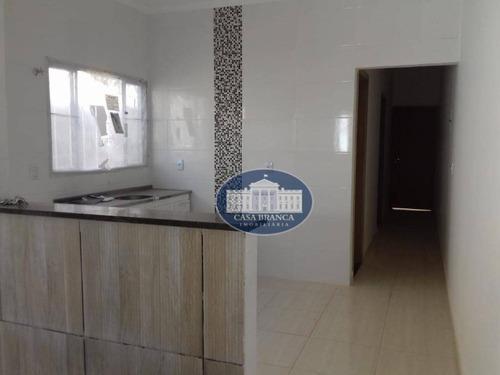 Imagem 1 de 10 de Casa Com 2 Dormitórios À Venda, 125 M² Por R$ 120.000,00 - Água Branca Iii - Araçatuba/sp - Ca1044