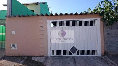 Casa Residencial À Venda, Jardim Quaresmeira, Suzano. - Ca0094
