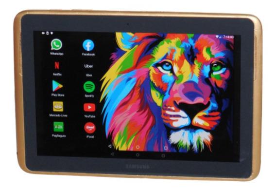 Tablet Samsung Usado Chip 4g 16gb Caneta S Pen Tela 10 1,4gh