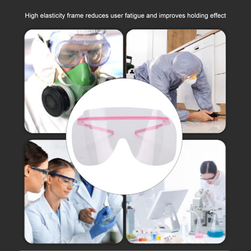 Gafas de protecci/ón antivaho transparentes para parabrisas totalmente cerradas R-WEICHONG bordes negros