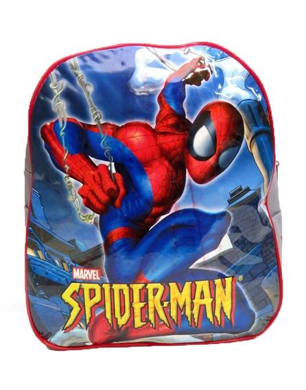 Mochila Spiderman Colegial De Espalda 34cm 7633 - Children