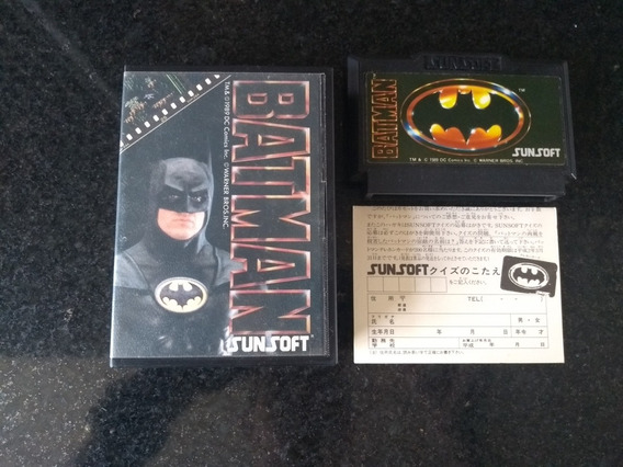 Batman The Vídeo Game Famicom