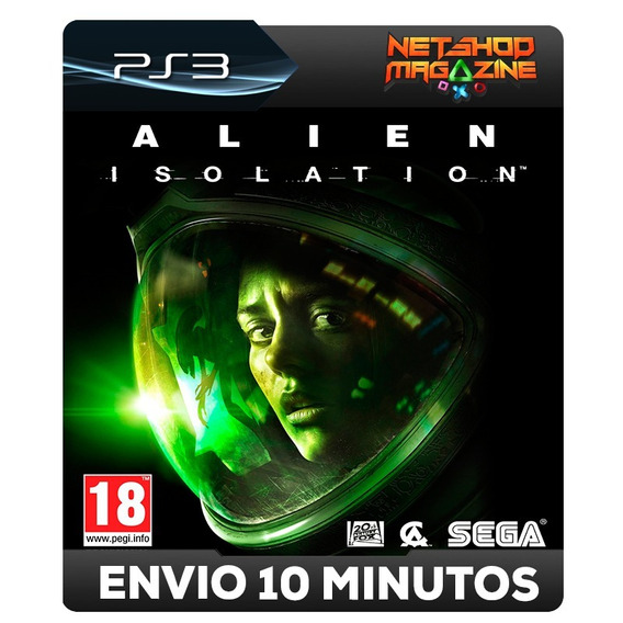 Alien Isolations - Psn Ps3 - Português - Envio Imediato