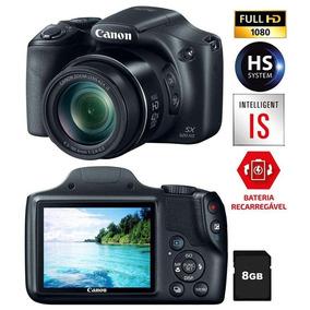 Câmera Canon Powershot Sx520 Hs + Tripé Greika