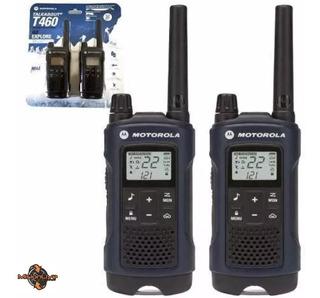Handies Motorola T460 -56km C/ Manos Libres Ptt Por Par