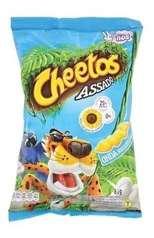 Salgadinho Cheetos Requeijão 150g - Elma Chips-12 Unidades