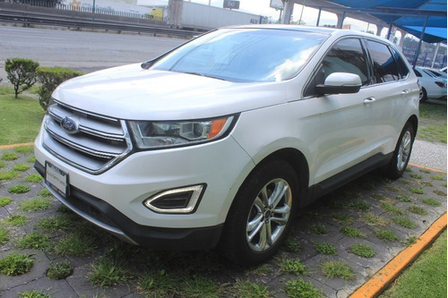 Imagen 1 de 14 de Ford Edge Sel Plus Aut Blanco 2015