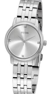Reloj Dama Guess W0687l1 100% Acero Swarovski Cristal Duro