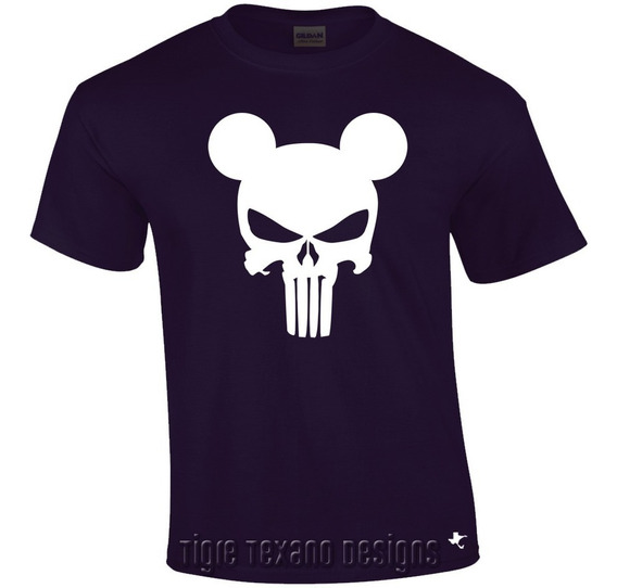 Playera Dibujo Animado Mickey Mouse M.7 Tigre Texano Designs