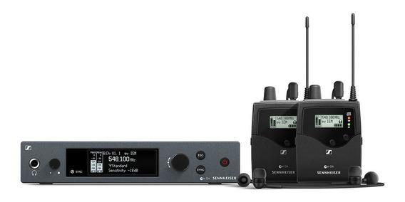 Sennheiser Twin Ew G4 Iem In Ear Duplo Sistema Sem Fio