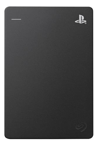Imagen 1 de 4 de Disco duro externo Seagate Game Drive for PS4 STGD2000100 2TB negro