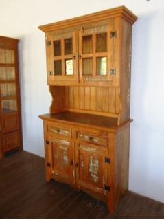 Armário Cozinha Madeira De Demolição Peroba (pronta Entrega)