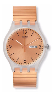Reloj Swatch Rostfrei Small Suok707b   Original Envío Gratis