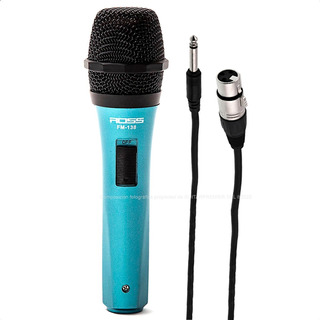 Microfono Dinamico Para Karaoke Voces + Cable Combo Garantia