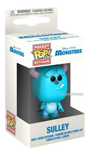 Llavero Funko Sulley Monster Inc Pop Keychain Scarlet Kids