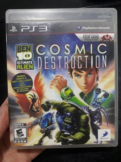Ben10 Cosmic Destruction Ps3 Fisico.