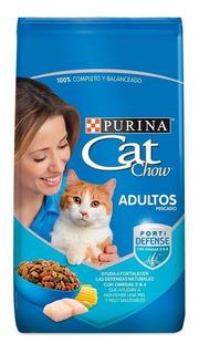 Cat Chow Adultos Pescado X 3 Kg