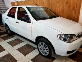 Fiat Siena 2013 Gnc 1.4 Blanco Financio 100%