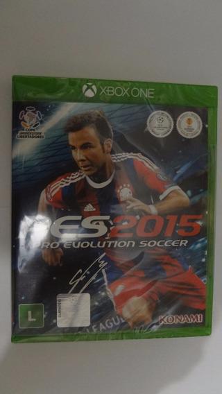 Pes 2015 Xbox One - Mídia Física - Novo E Lacrado